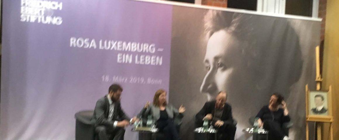 Rosa Luxemburg, Podiumsdiskussion FES