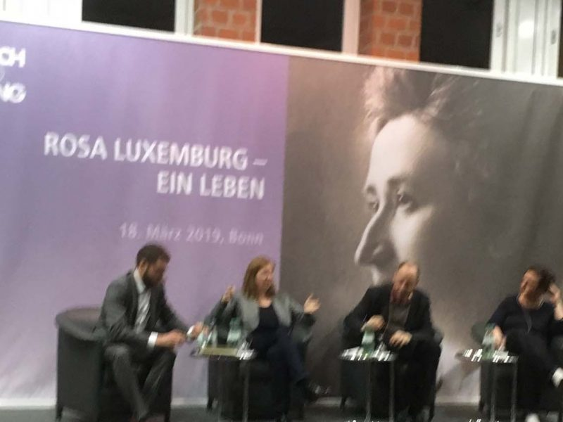 Rosa Luxemburg, Podiumsdiskussion FES
