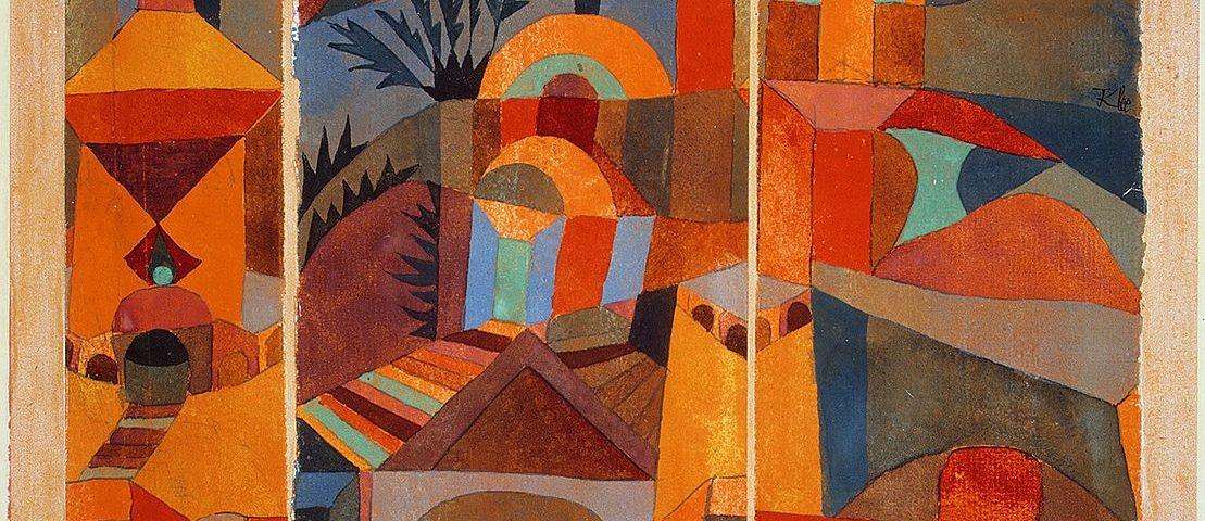 Paul Klee - Tempelgärten