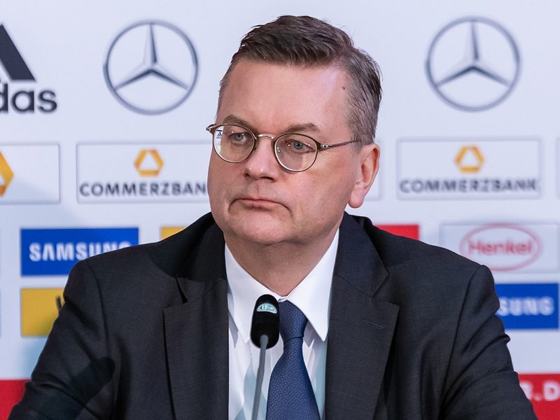 Reinhard Grindel, ehemaliger DFB-Präsident