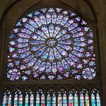 Fenster rosette Notre Dame