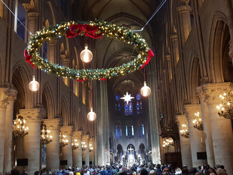 Notre Dame Messe Silvester 2018