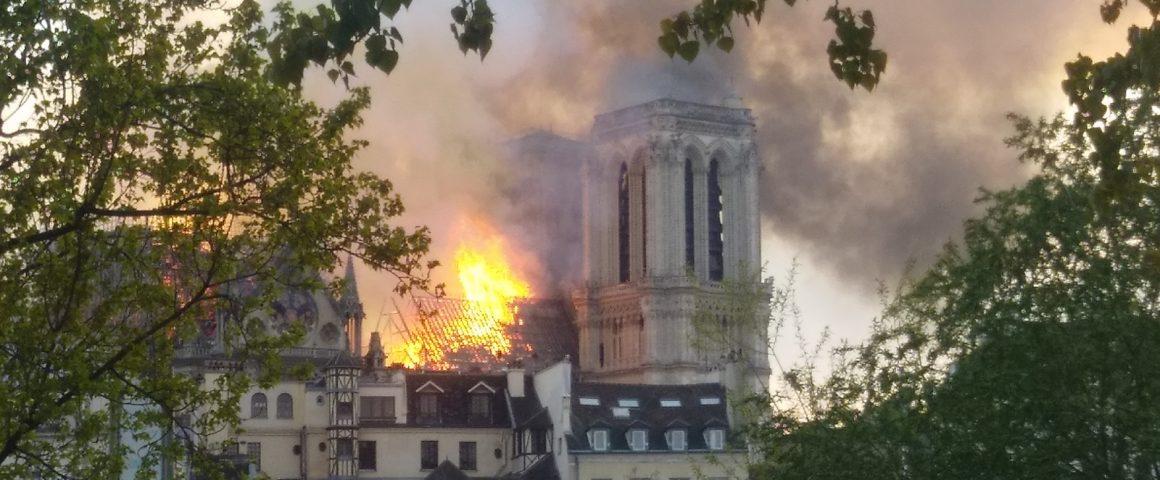Brand von Notre Dame am 15. April 2019