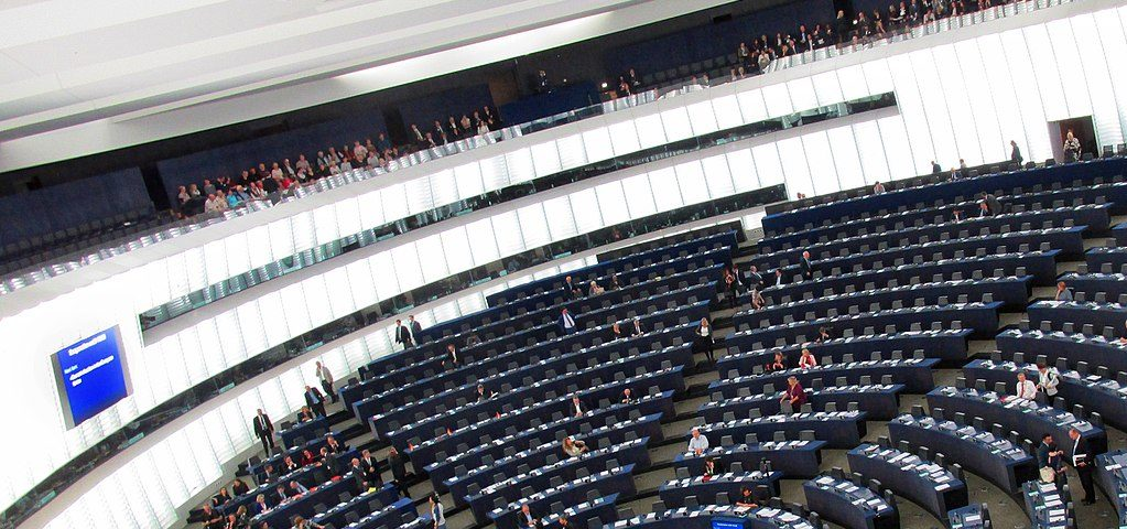 Plenarsaal Europaparlament