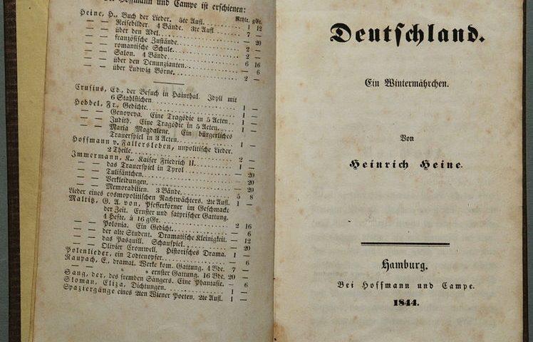 Heinrich Heine: Ein Wintermärchen