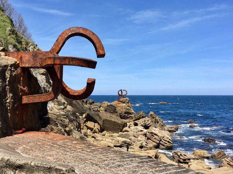 Küste Baskenland, Foto: Elisabeth Lewe