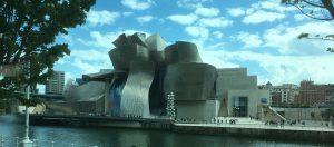 Das Giuggenheim-Museum in Bilbao