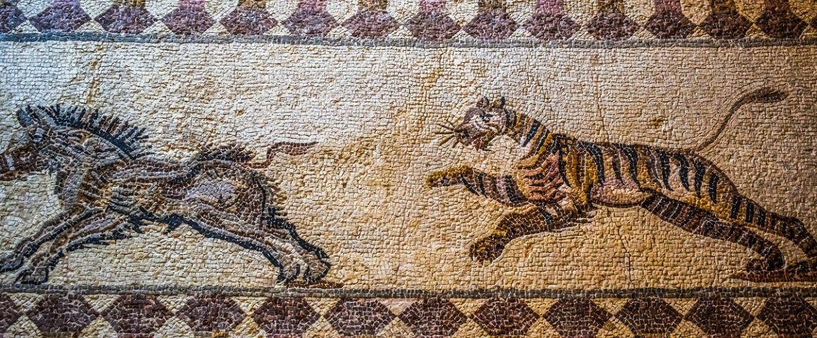 Jagender Tiger, Symbolbild