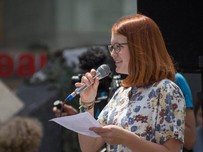 Frida, Engagement für eine bessere Klimapolitik