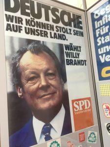 Wahlplakat 1972