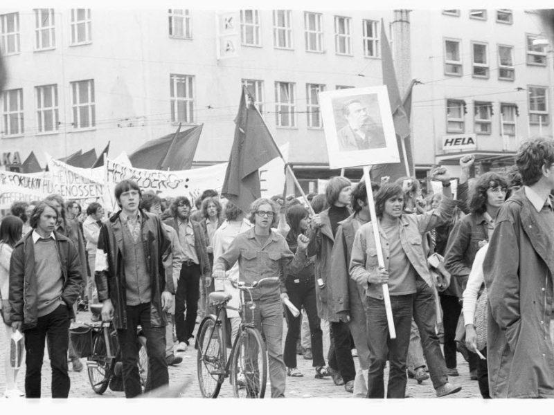 Solidaritätskundgebung für den SDS