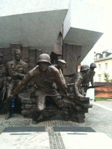 Denkmal Warschauer Aufstand 1.8.1944