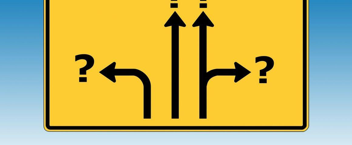Was ist die richtige Richtung