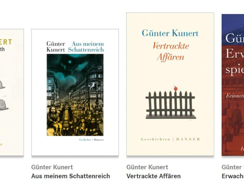 Werke von Günter Kunert