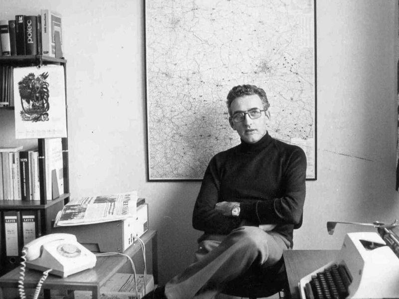 Peter Nöldechen Mitte der 1970er Jahre