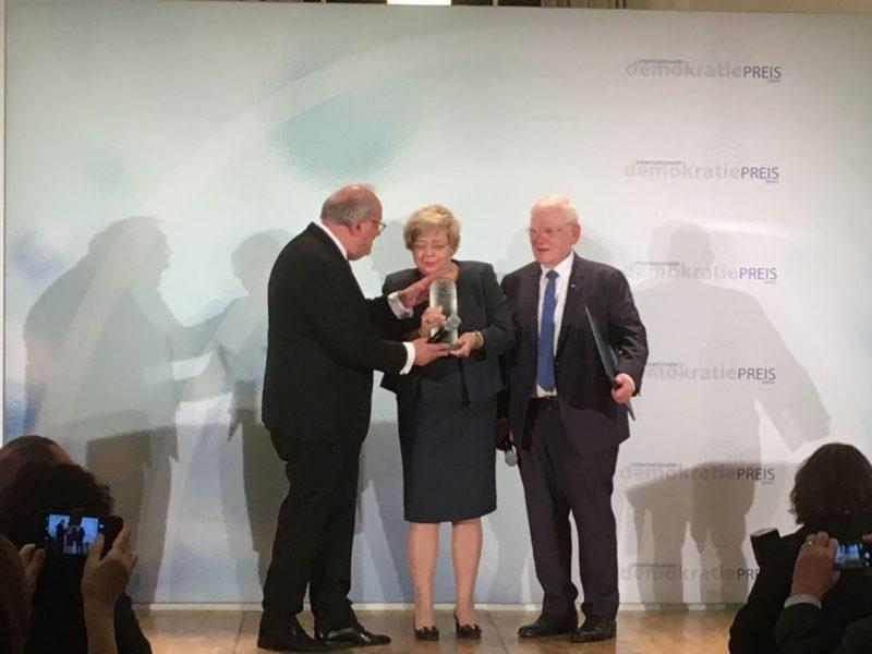 Verleihung des Demokratie-Preises