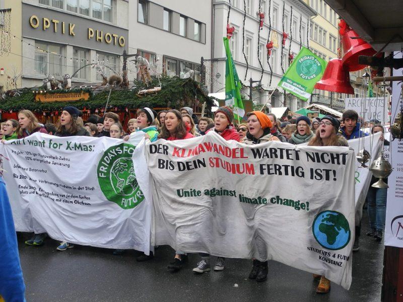 Demonstration gegen Untätigkeit der Politik