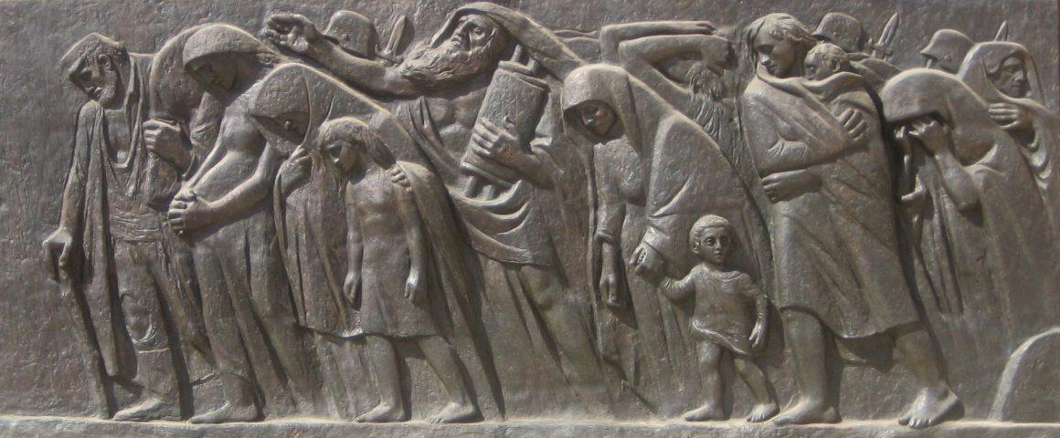 Monument des Aufstands im Warschauer Ghetto in Yad Vashem
