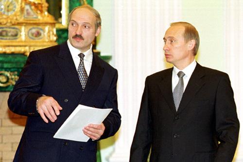 Putin - Lukaschenko