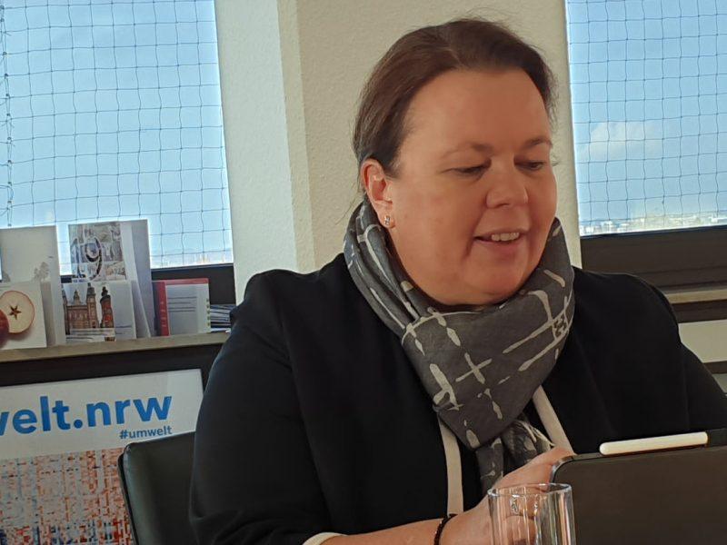 NRW-Umweltministerin Heinen-Esser