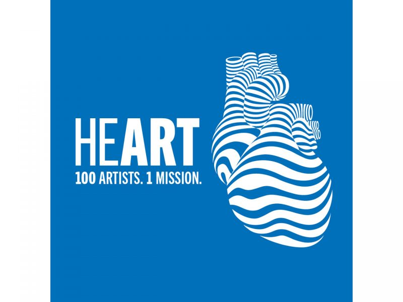 Logo 100 Artists. 1 Mission