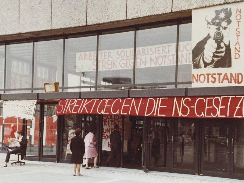 Proteste gegen Notstandsgesetze 1968