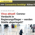 """Schlagzeile im """"Express"""""""