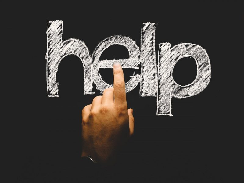 Hilfe -Symbolbild