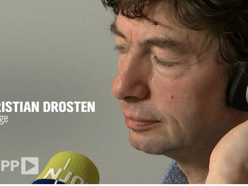 Drosten - Screenshot NDR-ZAPP