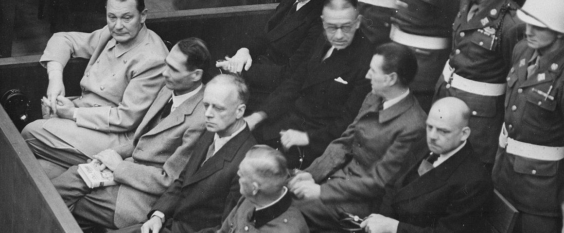 Nürnberger Prozess gegen die Hauptkriegsverbrecher