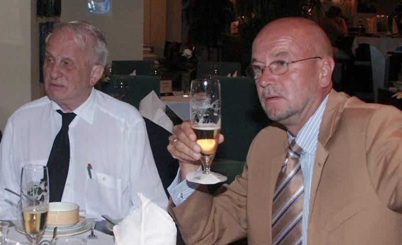 Rolf Hochhuth mit Axel Hegmann
