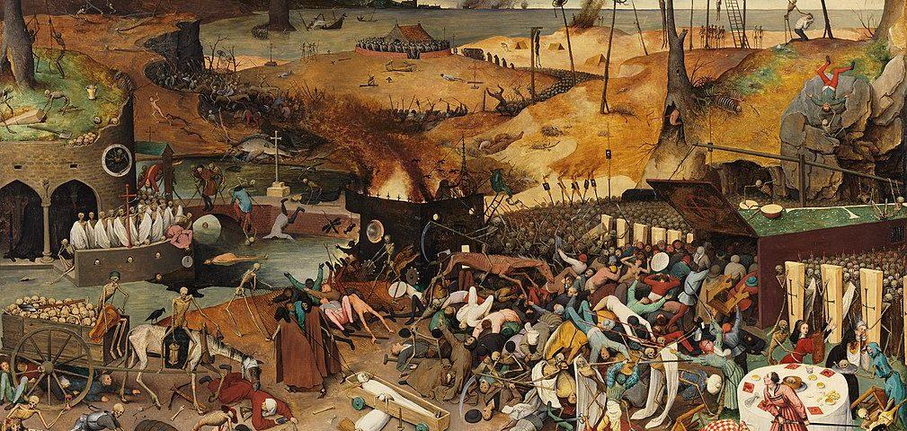 """Gemälde """"Triumph des Todes"""" von Pieter Bruegel"""