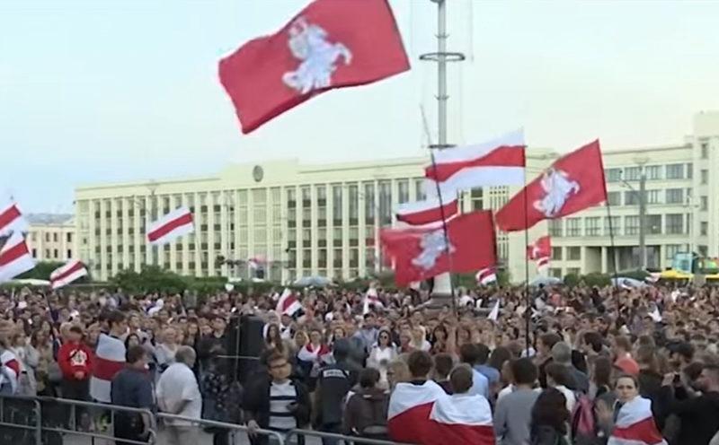 Proteste gegen Lukaschneko in Minsk