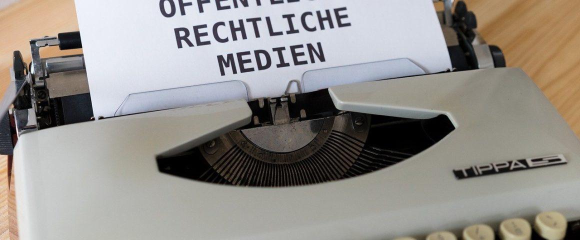 Öffentlich-rechtliche Medien - Symbolbild