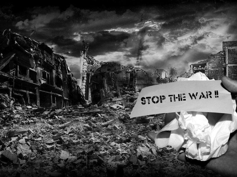 Stop the War - Symbolbild