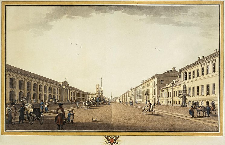Benjamin Paterssen, Nevsky-Prospekt