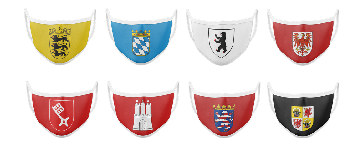 Corona - Masken der Bundesländer