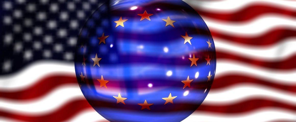 Verhältnis USA-EU - Symbolbild