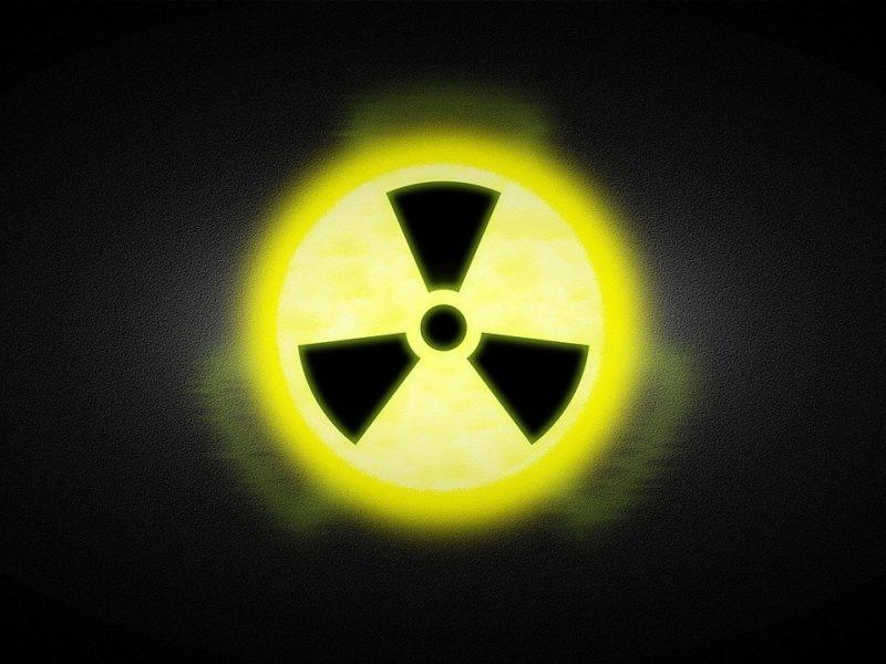 Radioaktiv - Warnschild