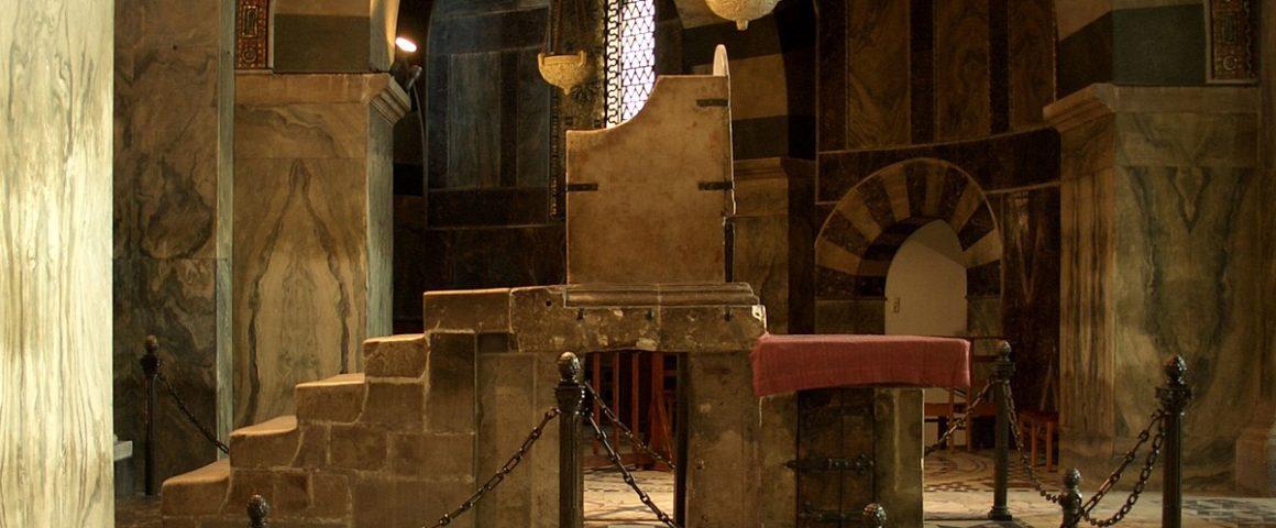 Thron Karls des Großen im Aachener Dom