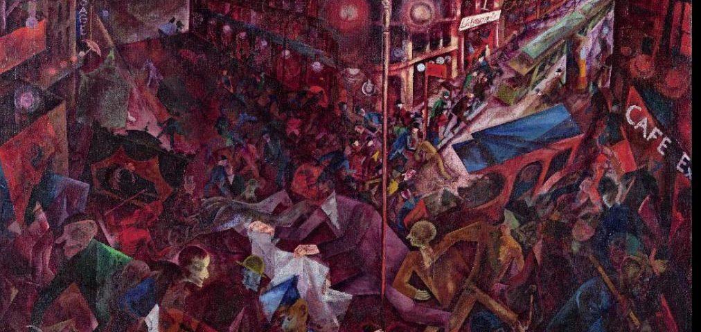 """George Grosz """"Metropolis"""""""