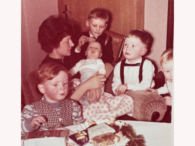 Jürgen Brauteier mit Familie