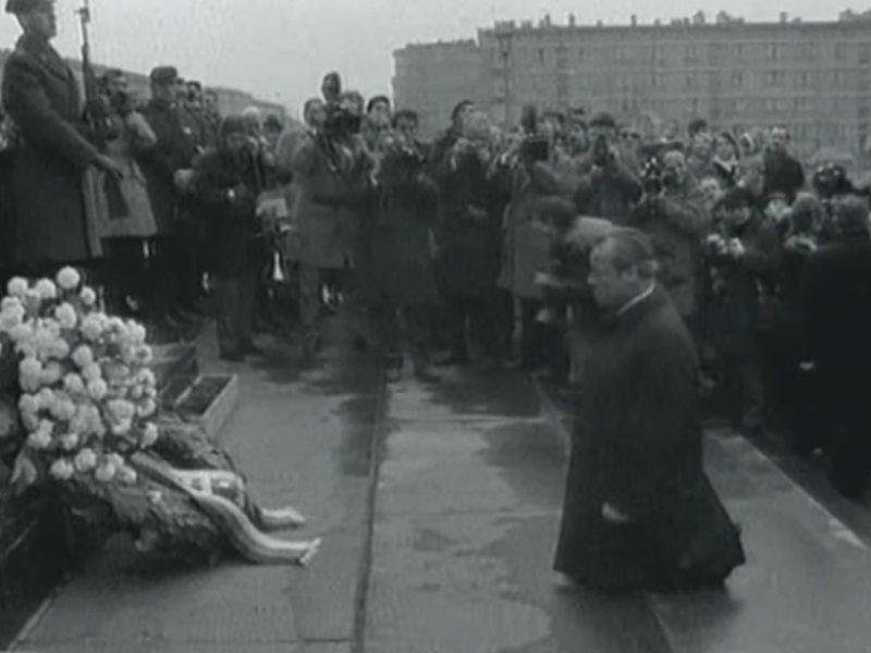 Willy BRandt - 7. Dezember 1970 in Warschau