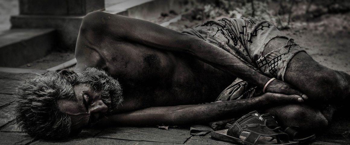 Hunger und Obdachlosigkeit, Symbolbild