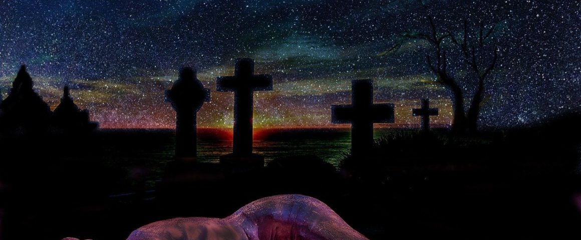 Symbolbild Friedhof und Mißbrauch