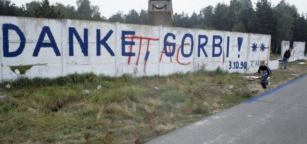 Graffiti Danke Gorbi