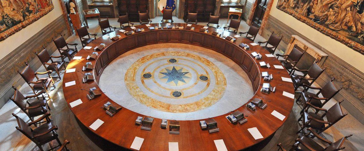 Kabinettssaal im Palazzo Chigi
