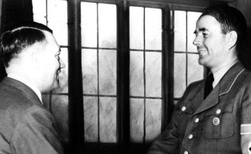 Alert Speer mit Adolf Hitler 1942