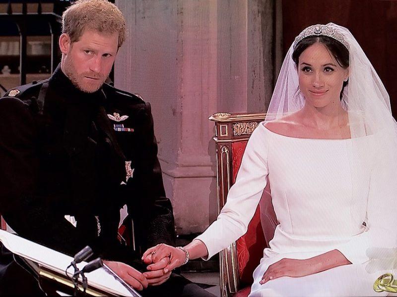 Hochzeitsfoto von Meghan und Harry