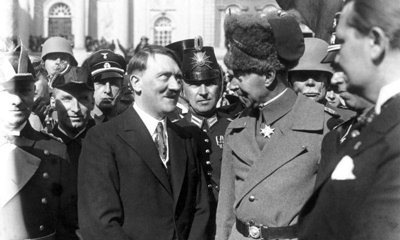 Hitler und der Hohenzoller Wilhelm von Preußen